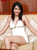 Cute ladyboy with a big shedick!